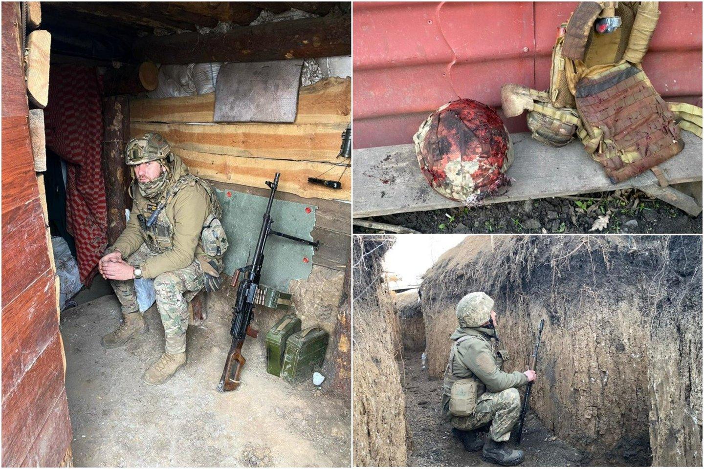 Vaizdai iš Rytų Ukrainos.<br>lrytas.lt koliažas.