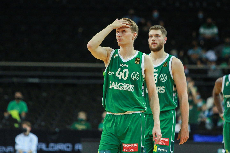 Marius Grigonis kitą sezoną rungtyniaus Maskvoje.<br>G.Bitvinsko nuotr.
