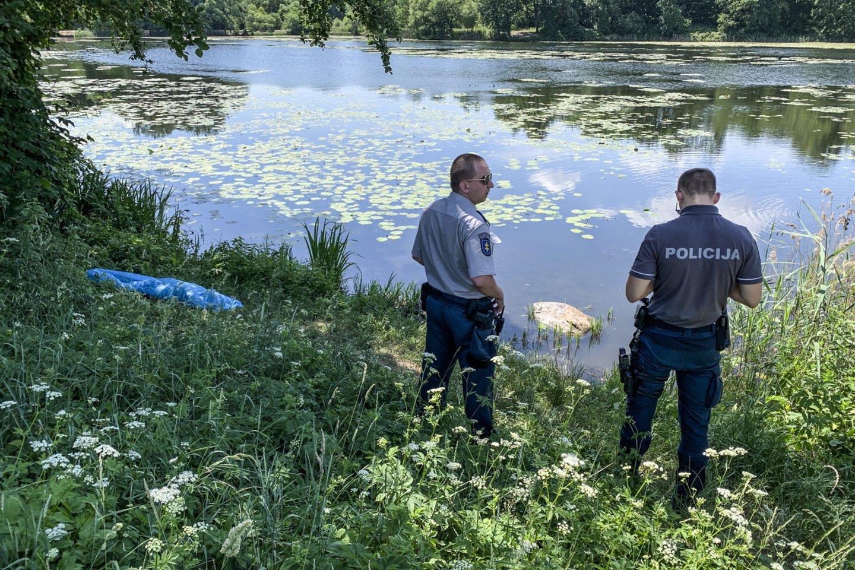 Kauno rajone nuskendo 27 metų vyras.<br>V.Ščiavinsko asociatyvi nuotr.