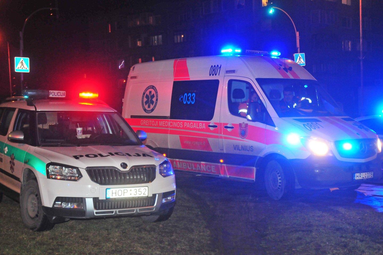 Smurta patyrę du vilniečiai atsidūrė ligoninėse.<br>A.Vaitkevičiaus asociatyvioji nuotr.