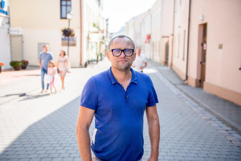 Žanas Maslauskas.<br>J.Stacevičiaus nuotr.