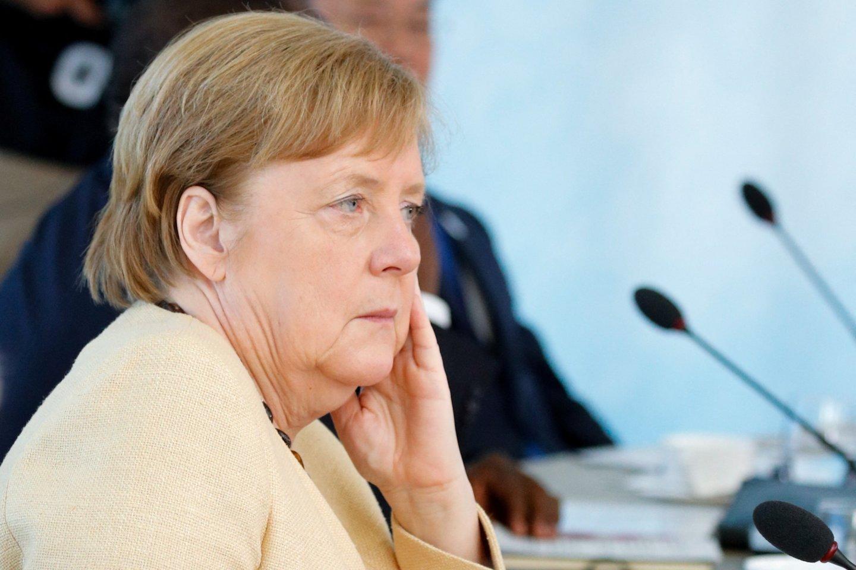 Vokietijos kanclerė Angela Merkel.<br>AFP/Scanpix nuotr.