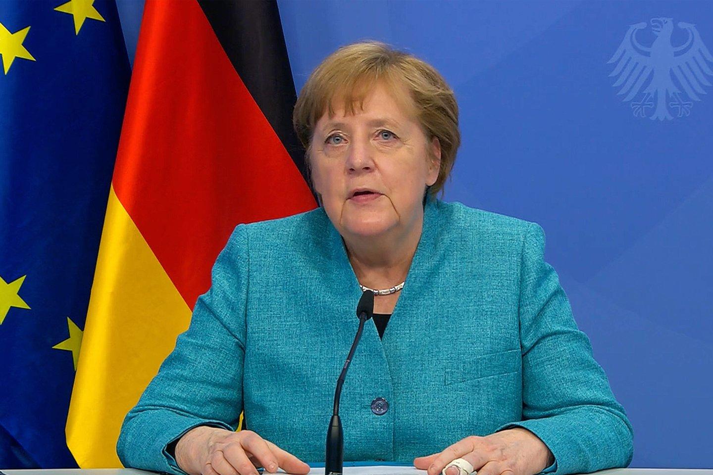 Vokietijos kanclerė Angela Merkel.<br>Imago/Scanpix nuotr.