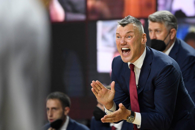Š.Jasikevičius.<br>AFP/Scanpix nuotr.
