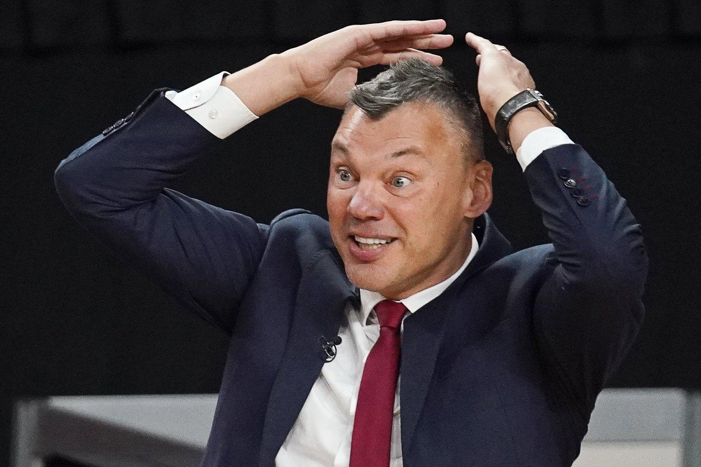 Š.Jasikevičius.<br>Reuters/Scanpix nuotr.
