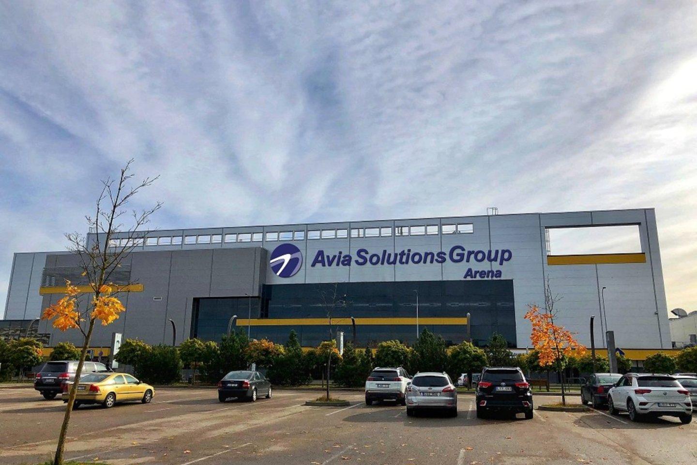 """""""Avia Solutions Group"""" arena.<br>Pranešimo autorių nuotr."""