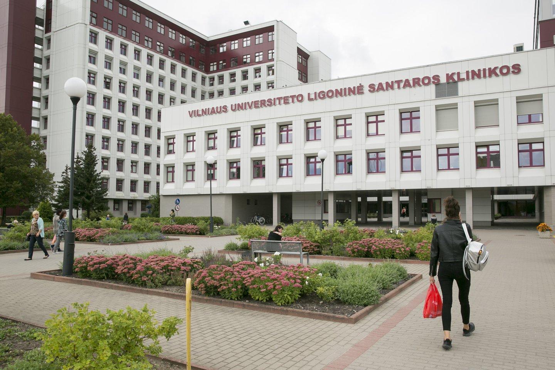 Atnaujintas pacientų lankymas Santaros klinikose.<br>T.Bauro nuotr.