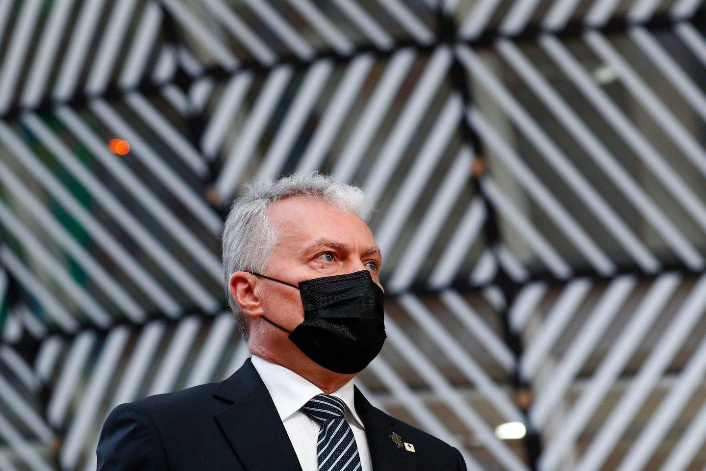 Gitanas Nausėda.<br>AFP/Scanpix nuotr.