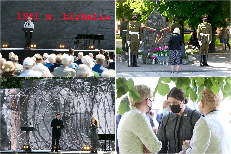 Lietuvoje pirmadienį minima Gedulo ir vilties diena – birželio 14-ąją prieš 80 metų šalį okupavę sovietai pradėjo masinius gyventojų trėmimus į Sovietų Sąjungos gilumą.<br>Lrytas.lt koliažas