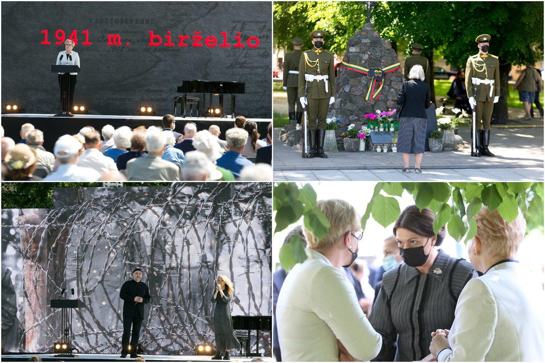 Lietuvoje pirmadienį minima Gedulo ir vilties diena<br>Lrytas.lt koliažas