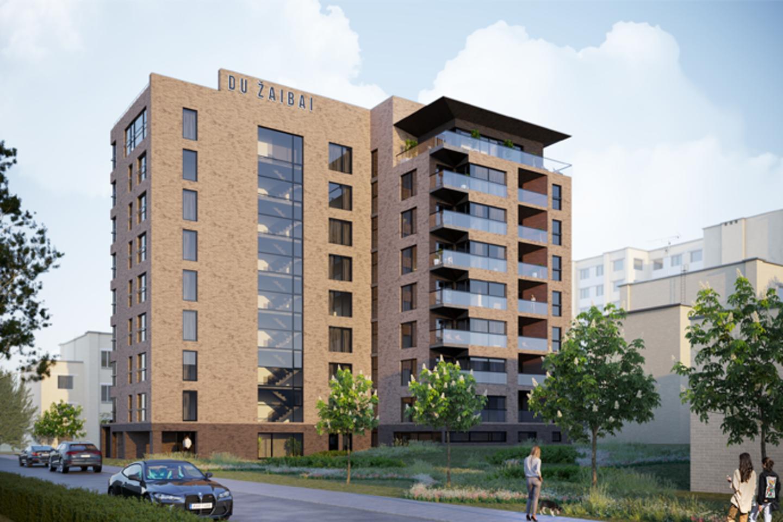"""Pirkėjams siūlomi butai su daline apdaila, tačiau pageidaujant įmonė """"Norvegijos Kontaktai gali pasirūpinti visais apdailos darbais ir butą įrengti pagal klientų poreikius."""