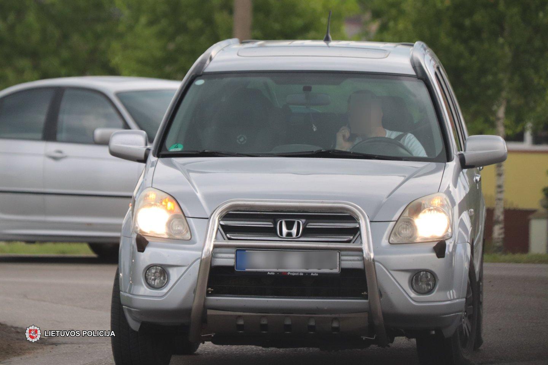 Policijos pareigūnai siekdami užtikrinti tinkamą eismo kontrolę birželio 8-11 dienomis Tauragės apskrities vyriausiojo policijos komisariato aptarnaujamoje teritorijoje vykdė policinę priemonę.<br>Pranešėjų spaudai nuotr.