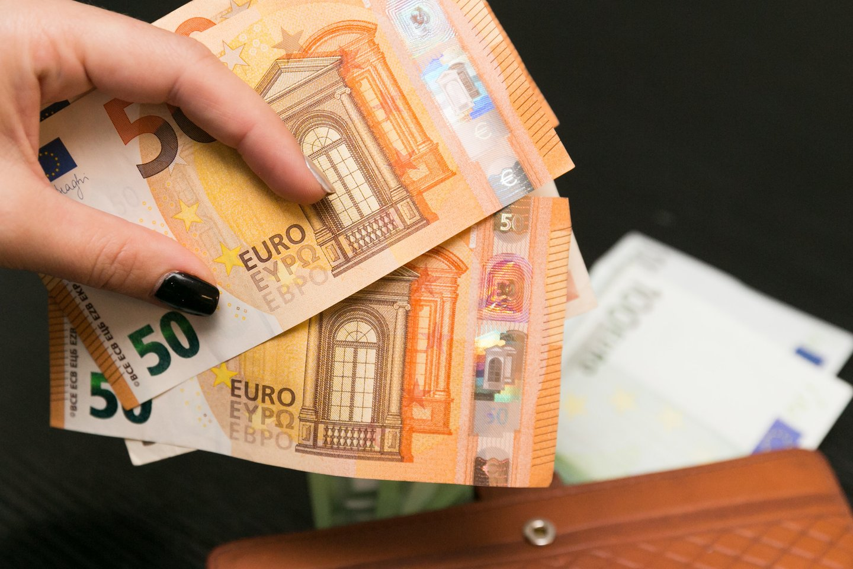 Estijos biudžeto deficitas 2020 m. buvo gerokai mažesnis nei Lietuvos.<br>T.Bauro nuotr.