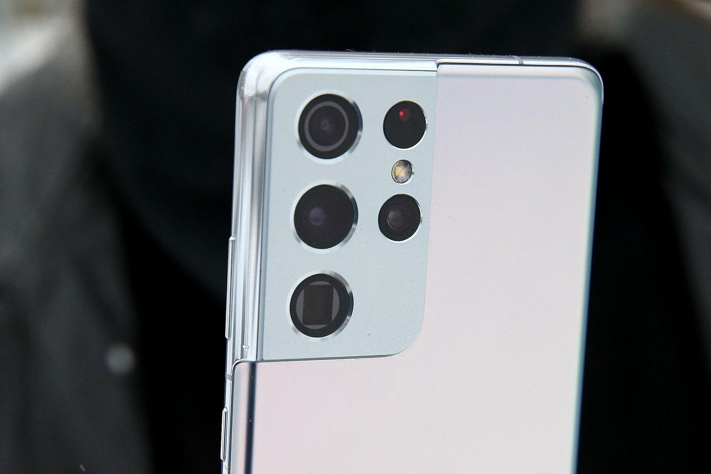 """""""Samsung"""" telefonuose naudojama programinė turi naują bėdą, kuri yra gerokai didesnė, nei anksčiau.<br>R.Danisevičiaus nuotr."""