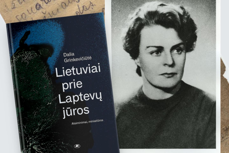 """D.Grinkevičiūtėsminiatiūrų knygos """"Lietuviai prie Laptevų jūros"""" naujas leidimas."""