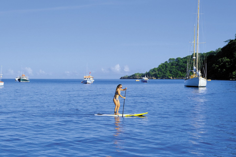 Su savo valtele Simona ir Rokas tyrinėjo upę Panamoje.<br>Asmeninio albumo nuotr.