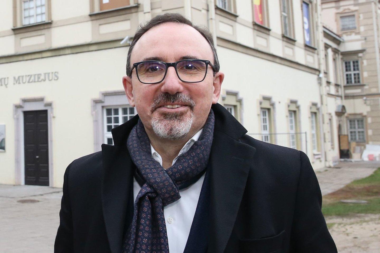 Lietuvos nacionalinio dailės muziejaus direktoriaus Arūnas Gelūnas.<br>R.Danisevičiaus nuotr.