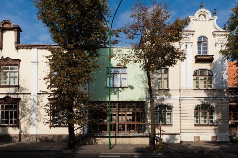 Klaipėdos dailės muziejus, buvusi Prano Domšaičio galerija.<br>LNDM nuotr.