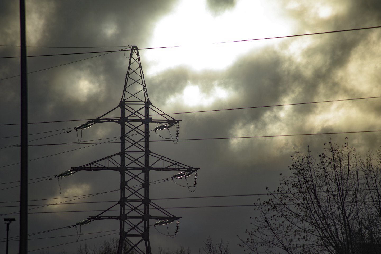 Elektra,stulpai,energetika<br>V.Ščiavinsko nuotr.