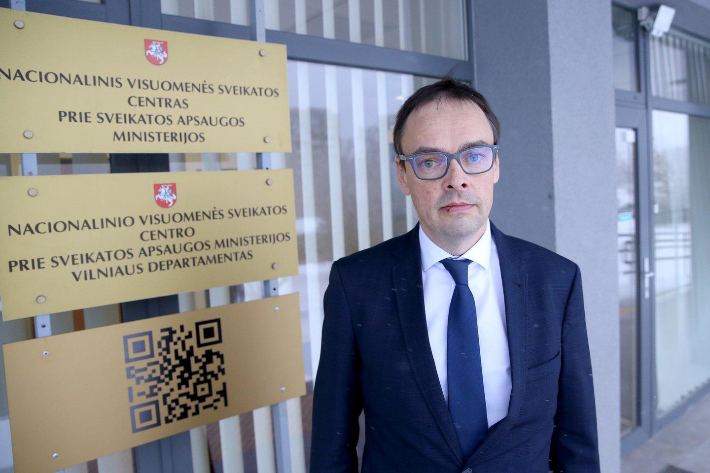 Buvęs NVSC direktorius Robertas Petraitis<br>R.Danisevičiaus nuotr.