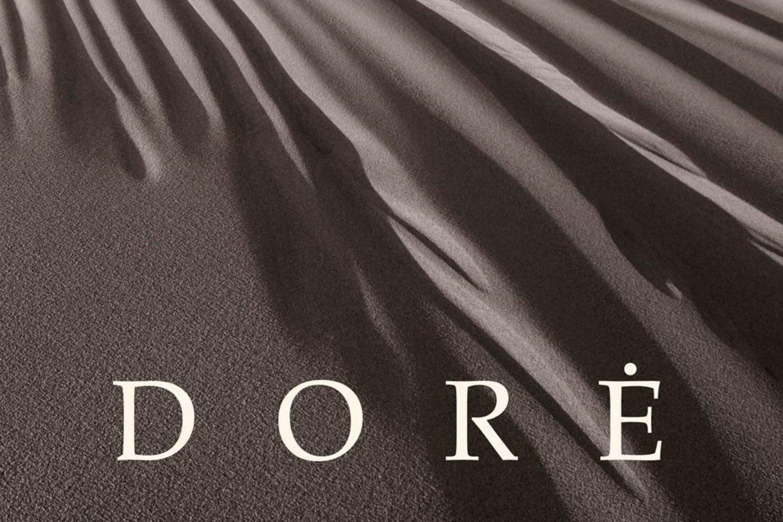 """""""Dorės"""" viršelio fragmentas."""