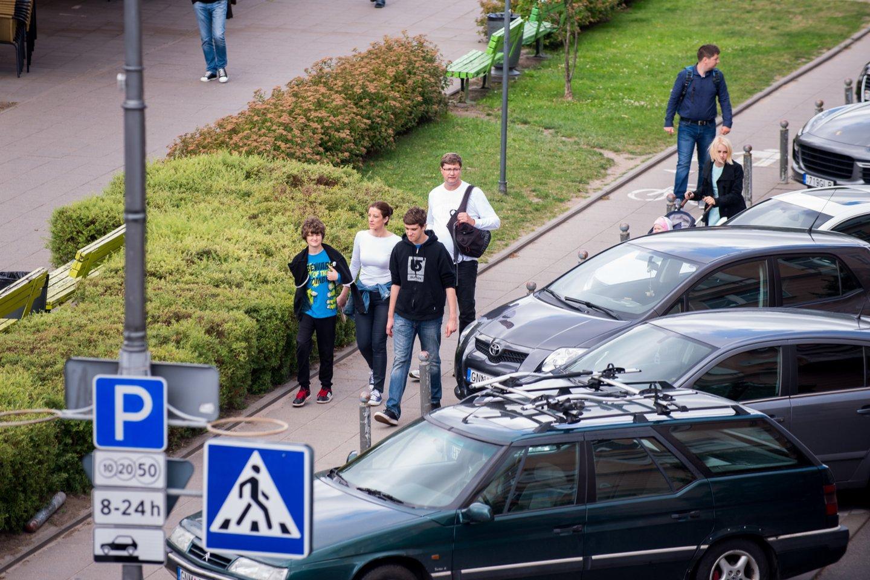 Birželio pabaigoje Vokiečių g. prasidės šilumos tinklų atnaujinimo darbai.<br>J.Stacevičiaus nuotr.