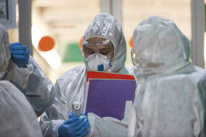 Lietuvos statistikos departamento antradienio žiniomis, Lietuvoje nuo pandemijos pradžios užfiksuota 277 942 COVID-19 atvejai, pagrindine mirties priežastimi naujasis koronavirusas tapo 4348 žmonėms.<br>G.Bitvinsko nuotr.