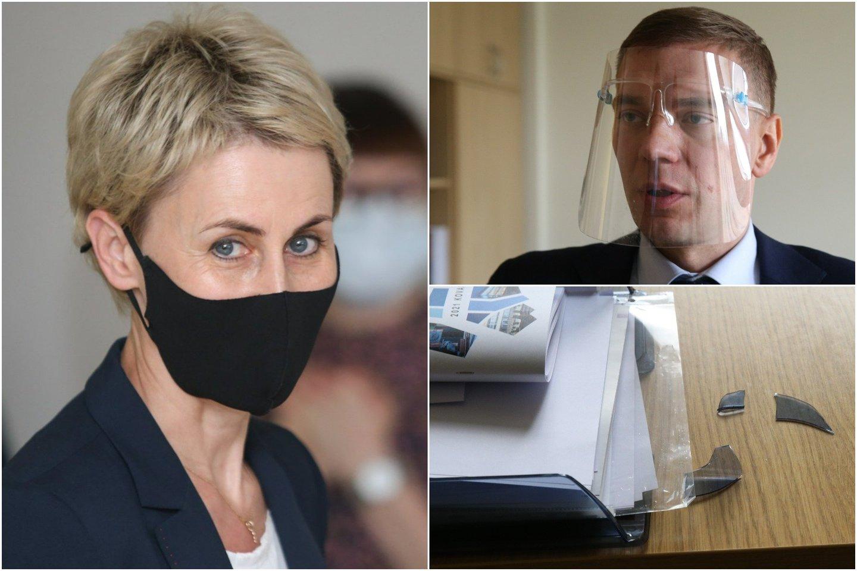 Generalinė prokurorė N.Grunskienė ir Mindaugas Puidokas.<br>Lrytas.lt koliažas
