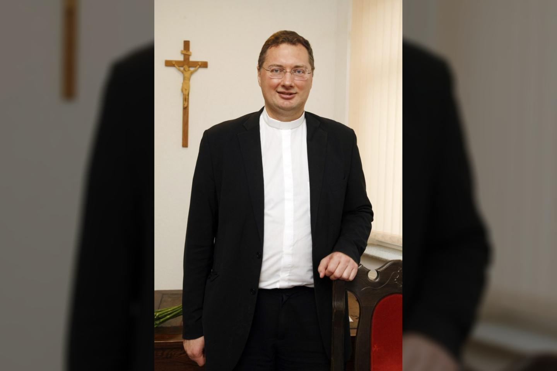 Visvaldas Kulbokas.<br>Telšių vyskupijos nuotr.
