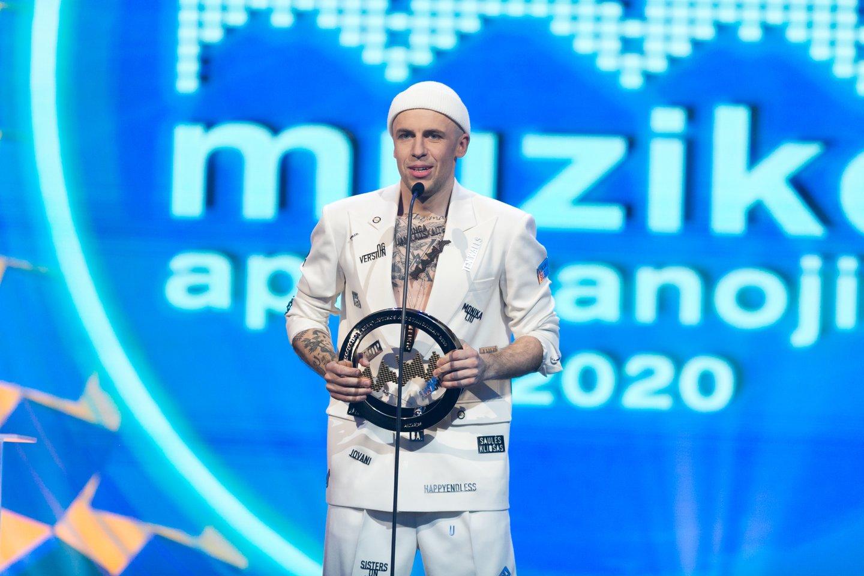 M.A.M.A. apdovanojimai 2021.<br>T.Bauro nuotr.