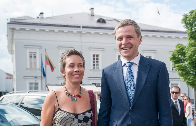 Agnė Matulaitė ir Remigijus Šimašius.<br>J.Stacevičiaus nuotr.