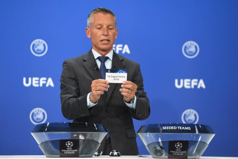 Vilniečiai žais su Šiaurės Airijos čempionais.<br>UEFA nuotr.