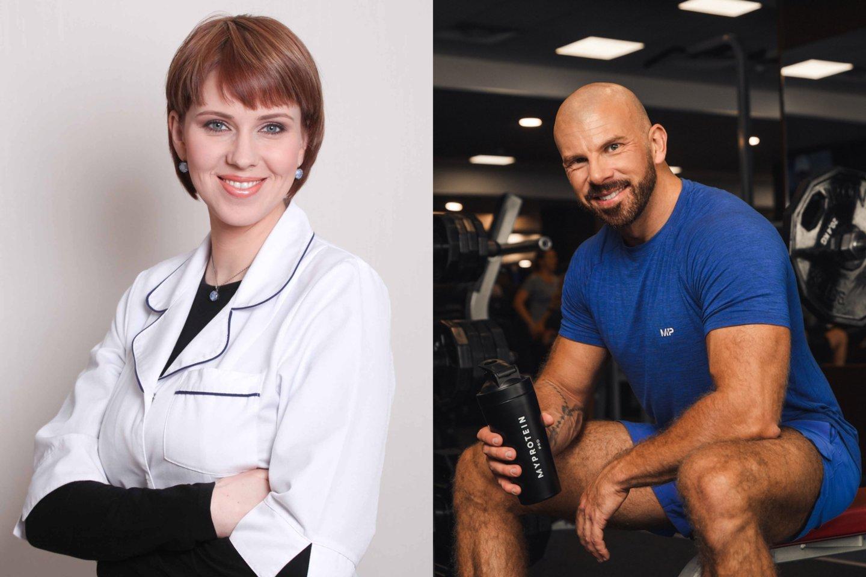 Kristina Jasmontienė ir Artur Swan.<br>LR koliažas.
