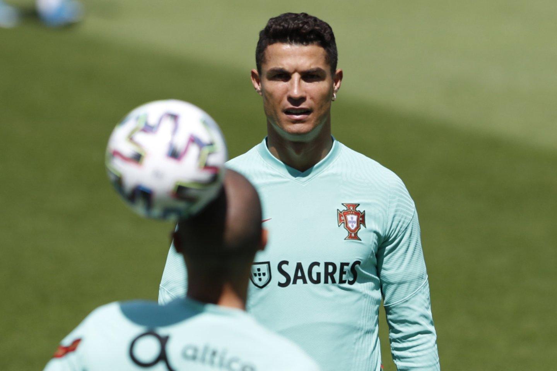 Cristiano Ronaldo<br>AFP/Scanpix.com nuotr.