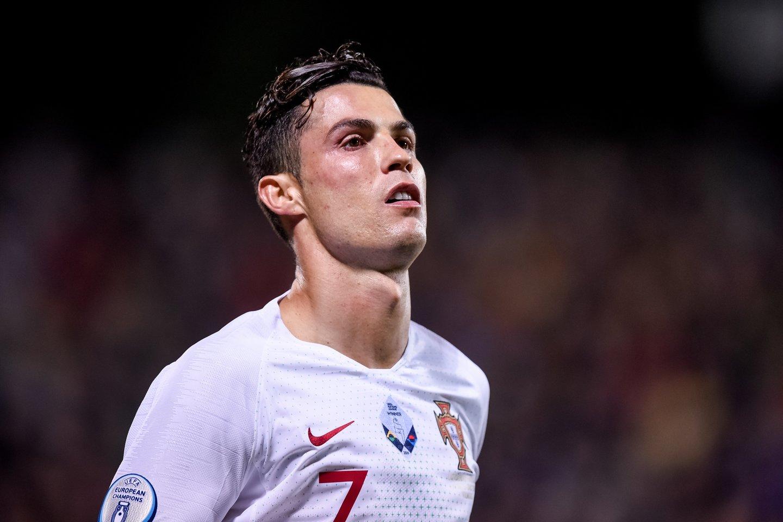 Cristiano Ronaldo<br>D.Umbraso nuotr.