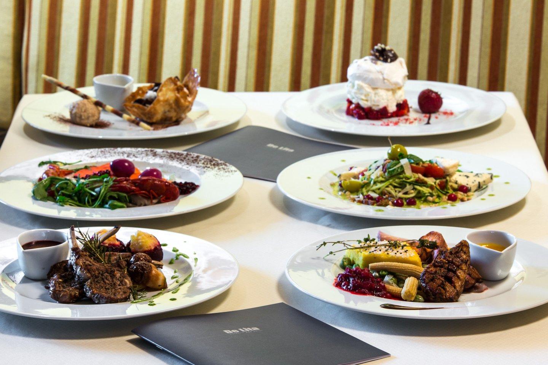 "Viešbučio ""De Lita"" restoranas.<br>Pranešimo nuotr."