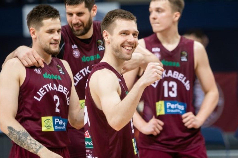 P.Valinskas nežino, kur žais kitą sezoną.<br>BNS/LKL nuotr.