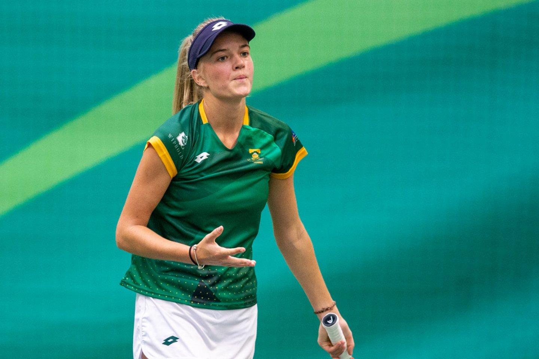 Iveta Dapkutė iškovojo sunkią pergalę.<br>S.Čirbos nuotr.