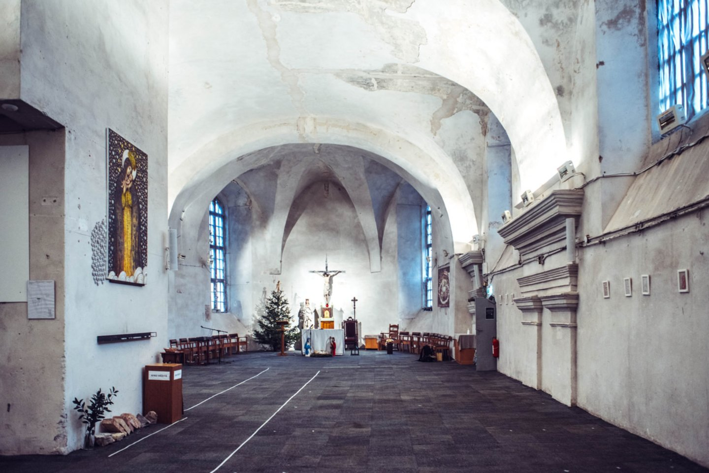 Švč. Mergelės Marijos Ramintojos bažnyčia kviečia pakeliauti laiku.<br>T.Tereko nuotr.