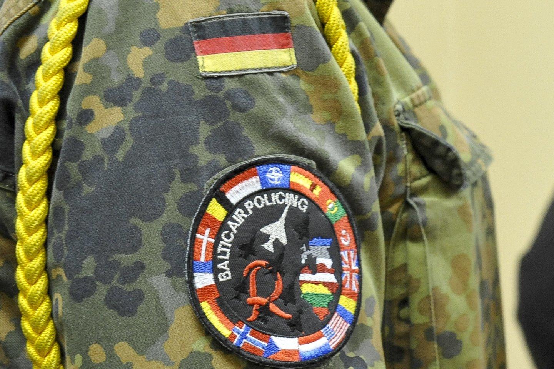 Vokietijos kariai.<br>V.Ščiavinsko asociatyvi nuotr.