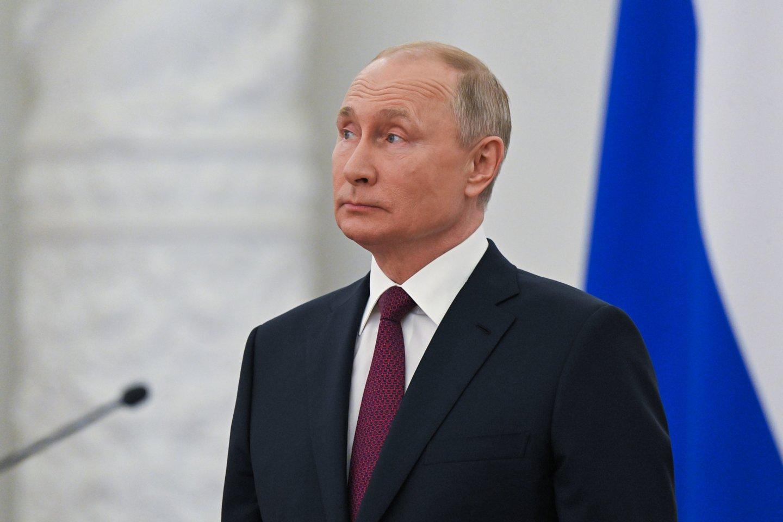 Rusijos prezidentas Vladimiras Putinas.<br>Reuters/Scanpix nuotr.