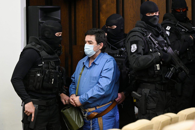 Slovakijos AT pakeitė išteisinamuosius nuosprendžius dėl žurnalisto nužudymo.<br>Reuters/Scanpix nuotr.