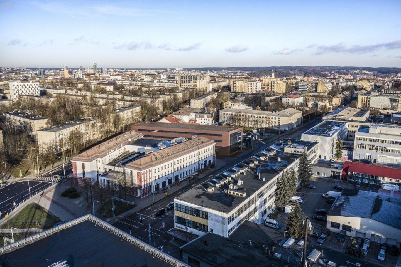 """Darnios miestų ir infrastruktūros plėtros bendrovė """"YIT Lietuva"""" už 6,4 mln. eurų statys sostinės Naugarduko gatvėje įsikūrusių Vilniaus lenkų kultūros namų priestatą.<br>Vizual."""
