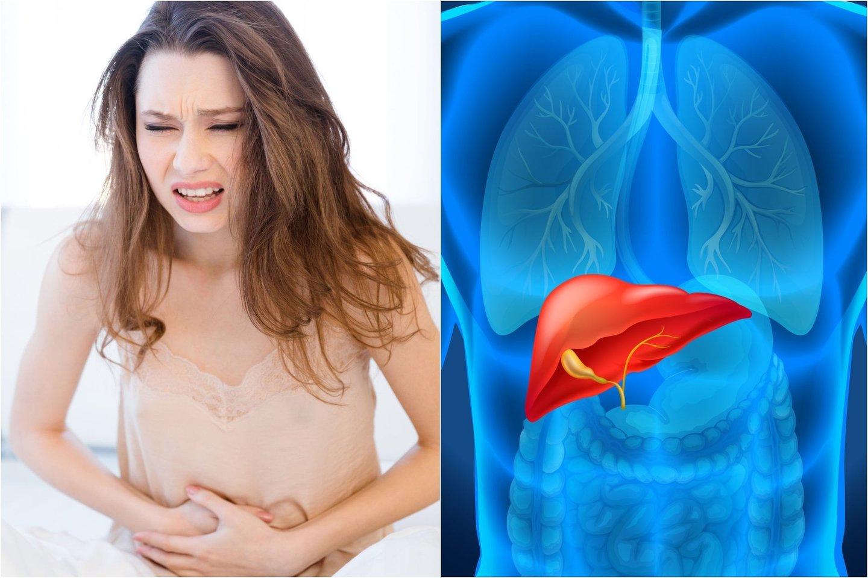 Sužinokite, kokie valgymo įpročiai labiausiai kenkia kepenims.<br>123rf.com nuotr.