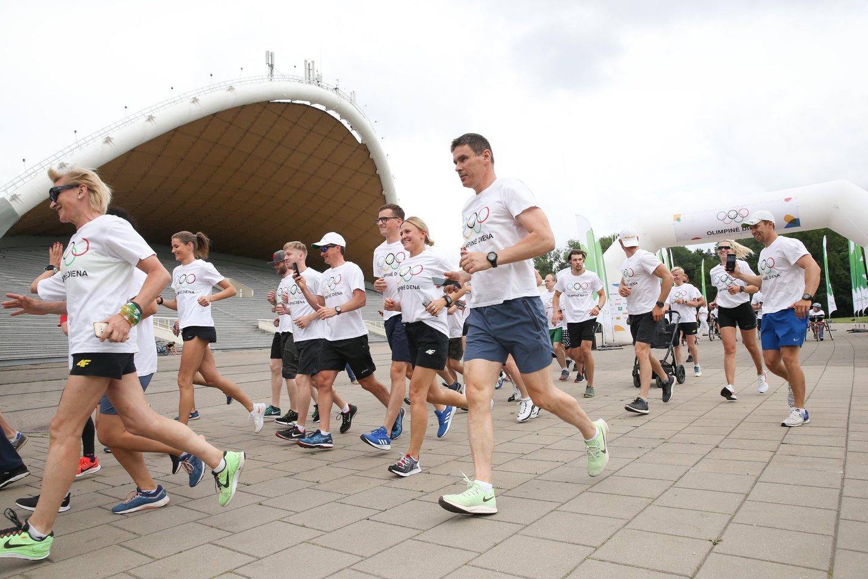 Bėgikams svarbiausia yra avalynė.<br>R.Danisevičiaus nuotr.