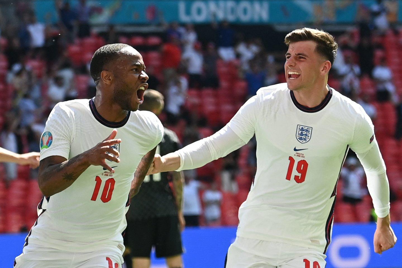 Anglija iškovojo istorinę pergalę.<br>AFP/Scanpix nuotr.