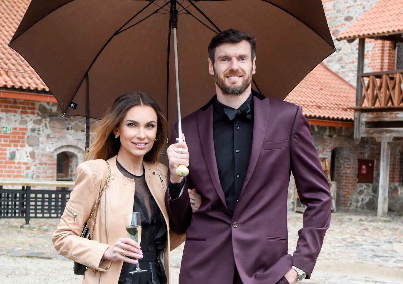 Tatjana ir Kšištofas Lavrinovičiai.<br>D.Umbraso nuotr.
