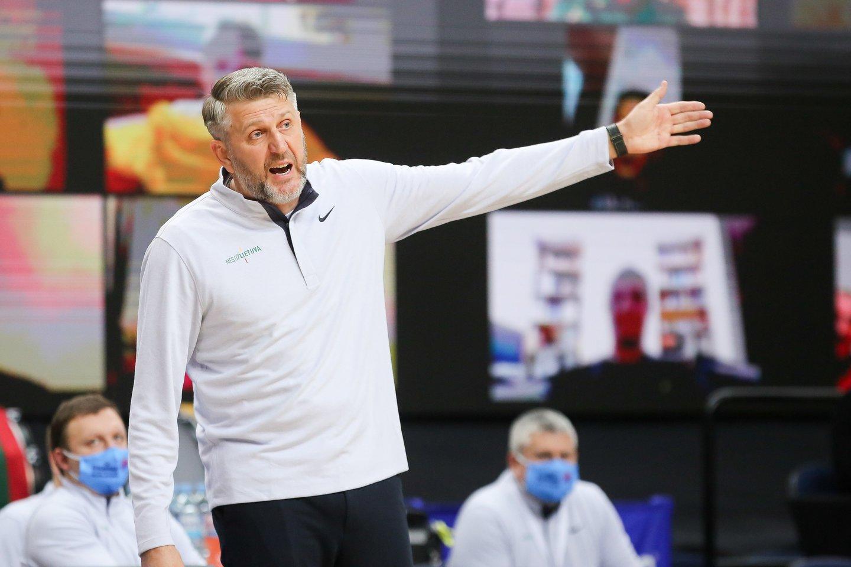 Darius Maskoliūnas dar neatvyko į rinktinės stovyklą.<br>T.Bauro nuotr.