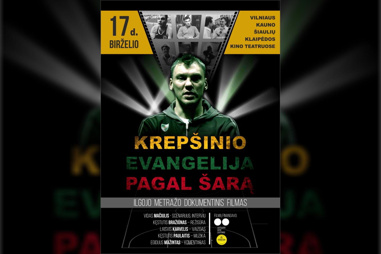 Filmą apie Šarūną Jasikevičių galima bus pamatyti kino teatruose.