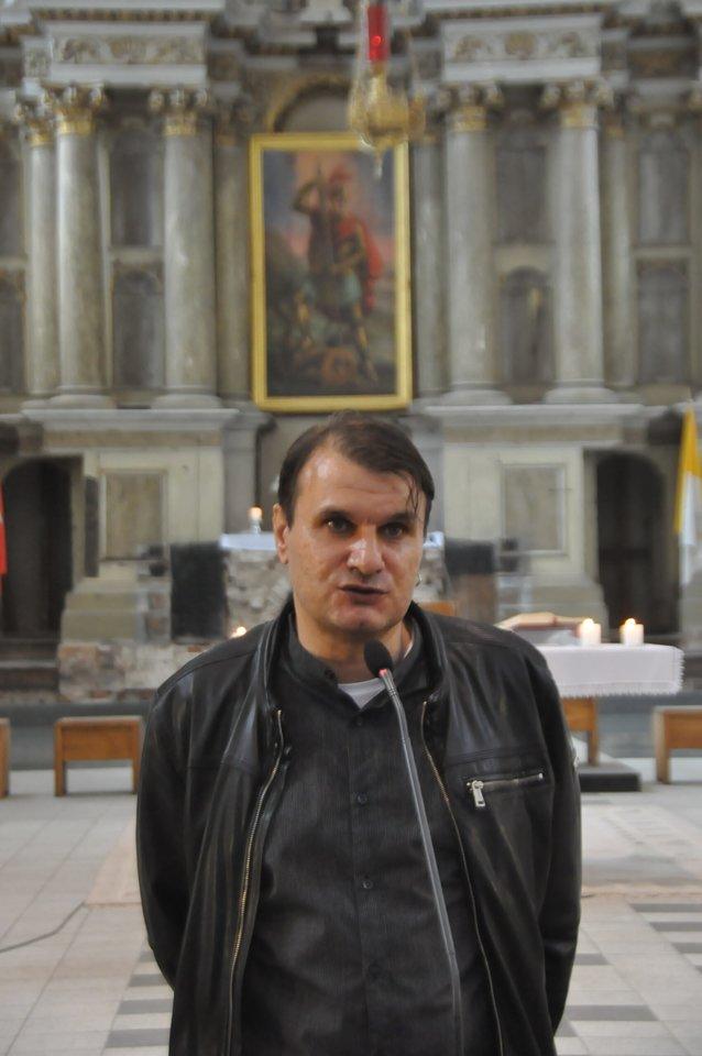 Poetas Rimvydas Stankevičius.<br>Organizatorių nuotr,
